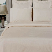 White 100% Bamboo 4pc Comforter Cover Set
