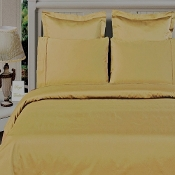 Gold Bamboo Duvet Cover Set