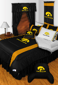 Iowa Hawkeyes Comforter Sheet Set Sideline Room Bedding