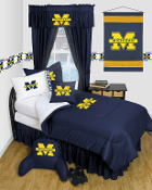 Michigan Wolverines Locker Room Sports Bedding Collection