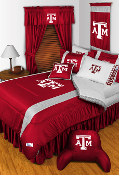 Texas A&M Aggies Sideline Room Sports Bedding Collection
