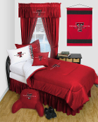 Texas Tech Red Raiders Locker Room Sports Bedding Collection