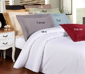Luxury Duvet Cover Sets Solid 1200 TC  Egyptian Cotton
