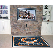 Chicago Bears NFL Floor Rug (4'x6')