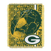Green Bay Packers NFL Triple Woven Jacquard Throw (Double Play)