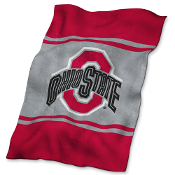 Ohio State Buckeyes NCAA UltraSoft Fleece Throw Blanket