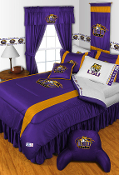 Louisiana State Tigers Sideline Room Sports Bedding Collection