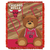 Even junior can get in on the action, its never too early to be a fan for a great team! Enjoy our woven NBA baby blanket