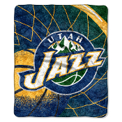 "Utah Jazz NBA Sherpa Throw (Reflect Series) (50""x60"")"