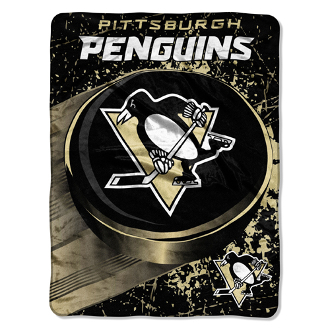Pittsburgh Penguins NHL Micro Raschel Throw (46in x 60in)