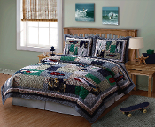 Surfing USA Quilt Set