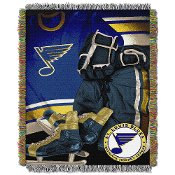 St. Louis Blues NHL Woven Tapestry Throw