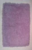 Flokati Light Purple Rug