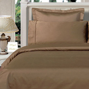 Taupe Twin XL Solid 3 Piece with Alternative Comforter