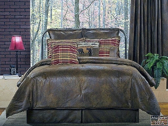 Gatlinburg  Brown Bedding