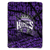 Sacramento Kings NBA Micro Raschel Blanket