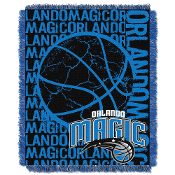 Orlando Magic NBA Woven Jacquard Throw