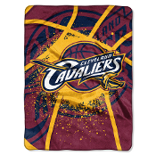 Cleveland Cavaliers NBA Royal Plush Raschel Blanket