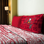 Tampa Bay Buccaneers NFL Twin Sheet Set (Anthem Series)