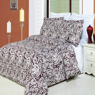 Tustin egg shell wine Comforter Set,