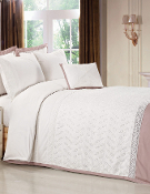 Lace Aztec 7 PC Duvet Cover Set