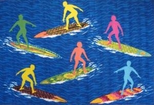 Surf Time Fun Rugs Surs R Us
